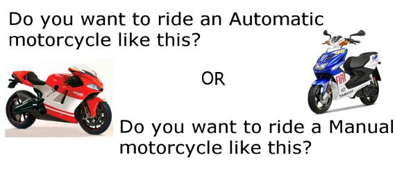 Automatic or manual